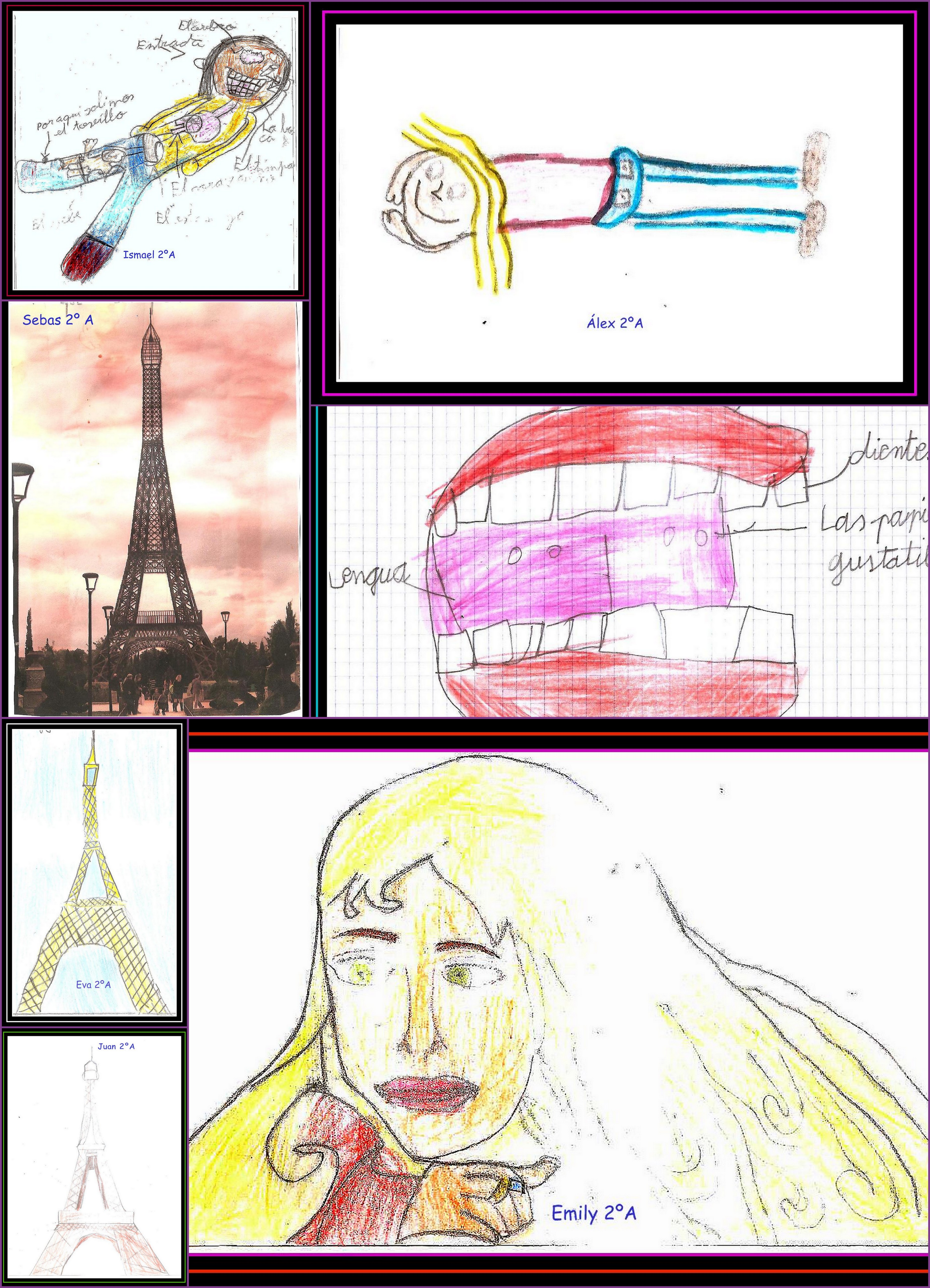 Dibujos Parque Europa