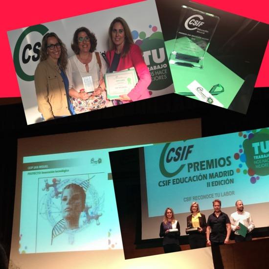 PREMIOS CSIF EQUIPO DIRECTIVO