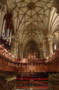 Coro de la Catedral de Guadix, Granada, Andalucía
