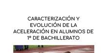 Caracterización y evolución de la aceleración en alumnos de 1º de Bachillerato