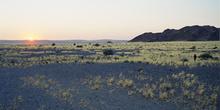 Atardecer en el Cañón de Sesriem, Namibia