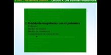 2º ESO / Tema 4 -> Punto 2 - Medida de magnitudes con el polímetro