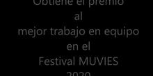 Participación en el Festival MUVIES 2020.