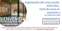 Presentación del Plan de Contingencia del Curso 2020-2021_CEIP FDLR_Las Rozas
