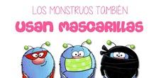 Los monstruos también usan mascarilla
