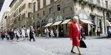 Entrada Plaza de la Señoría, Florencia