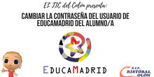 Cambiar la contraseña del usuario de alumno de EducaMadrid