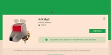 Configurar correo de EducaMadrid con K9 Mail en el móvil