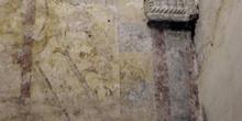 Lienzo sur de nave meridional de la iglesia de San Miguel de Lil
