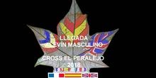 CROSS EL PERALEJO LLEGADA ALEVÍN MASCULINO