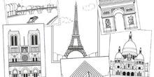 fotos edificios de Europa para pintura patio