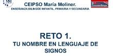 RETO 1 DE LA IGV DEL CEIPSO MARÍA MOLINER