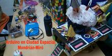 Arduino en Ciudad Espacial Mondrián-Miró (grubo 6ºB)