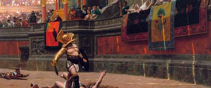 Gladiadores, ídolos de la antigua Roma