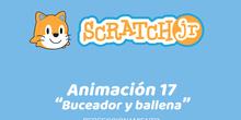 ScratchJr (Perfeccionamiento) 17-Buceador y ballena