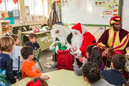 Los RRMM y Papá Noel en INF 5B 18