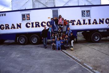 Niños del Gran Circo Italiano