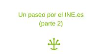 Un paseo por el INE.es (parte 2)