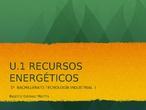 Presentación: RECURSOS ENERGÉTICOS