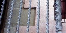 Detalle de barandilla de balcón
