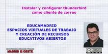 Configurar Thunderbird como cliente de correo