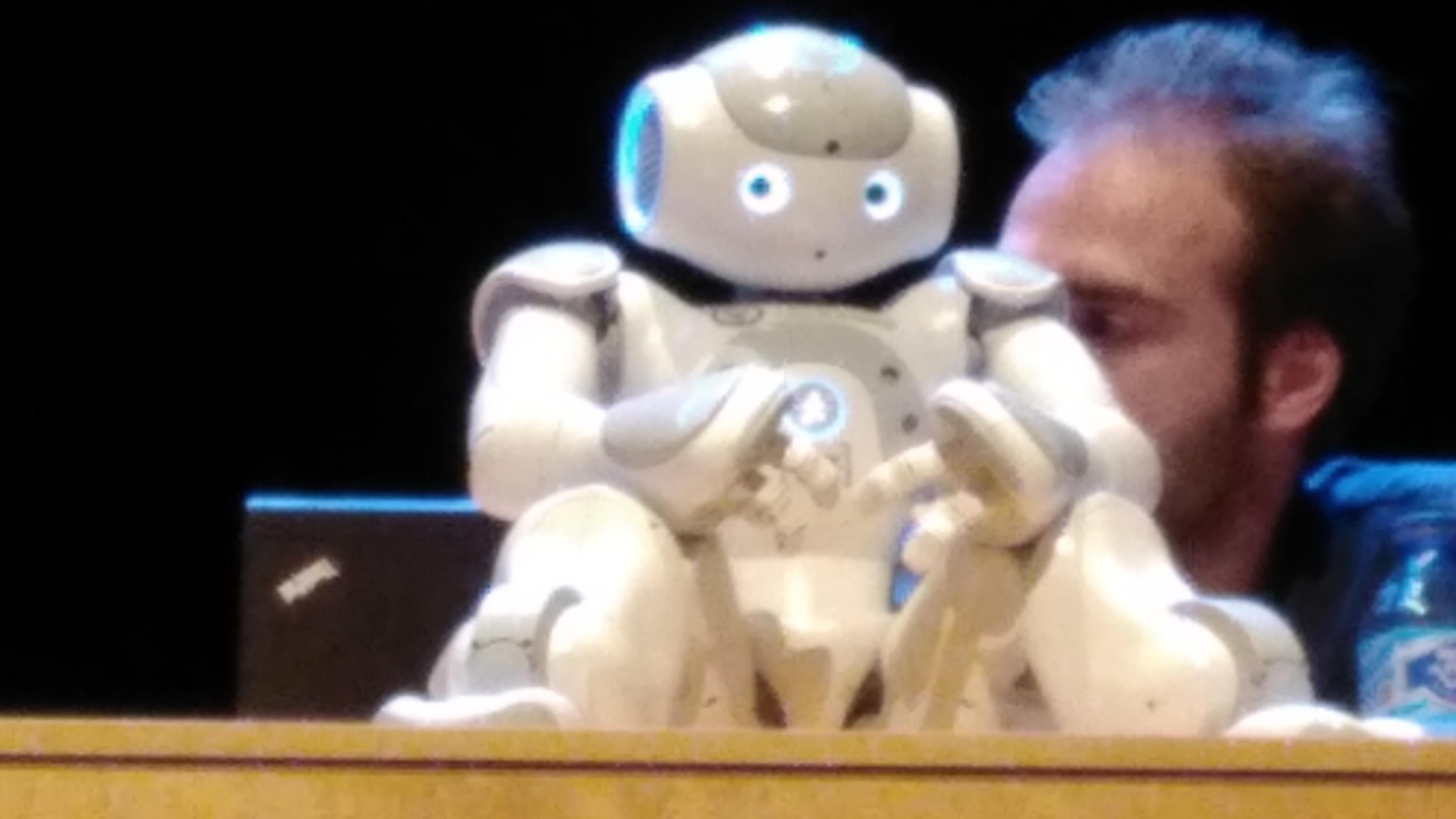 I Jornada de Programación, Robótica e Impresión 3D en educación para adultos. 04-04-2017 21