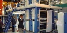 Cuerpo impresor de rotativa