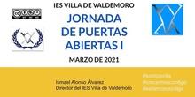 JORNADA VIRTUAL DE PUERTAS ABIERTAS IES VILLA DE VALDEMORO I