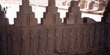 Relieve de los guerreros, Persépolis (Irán)