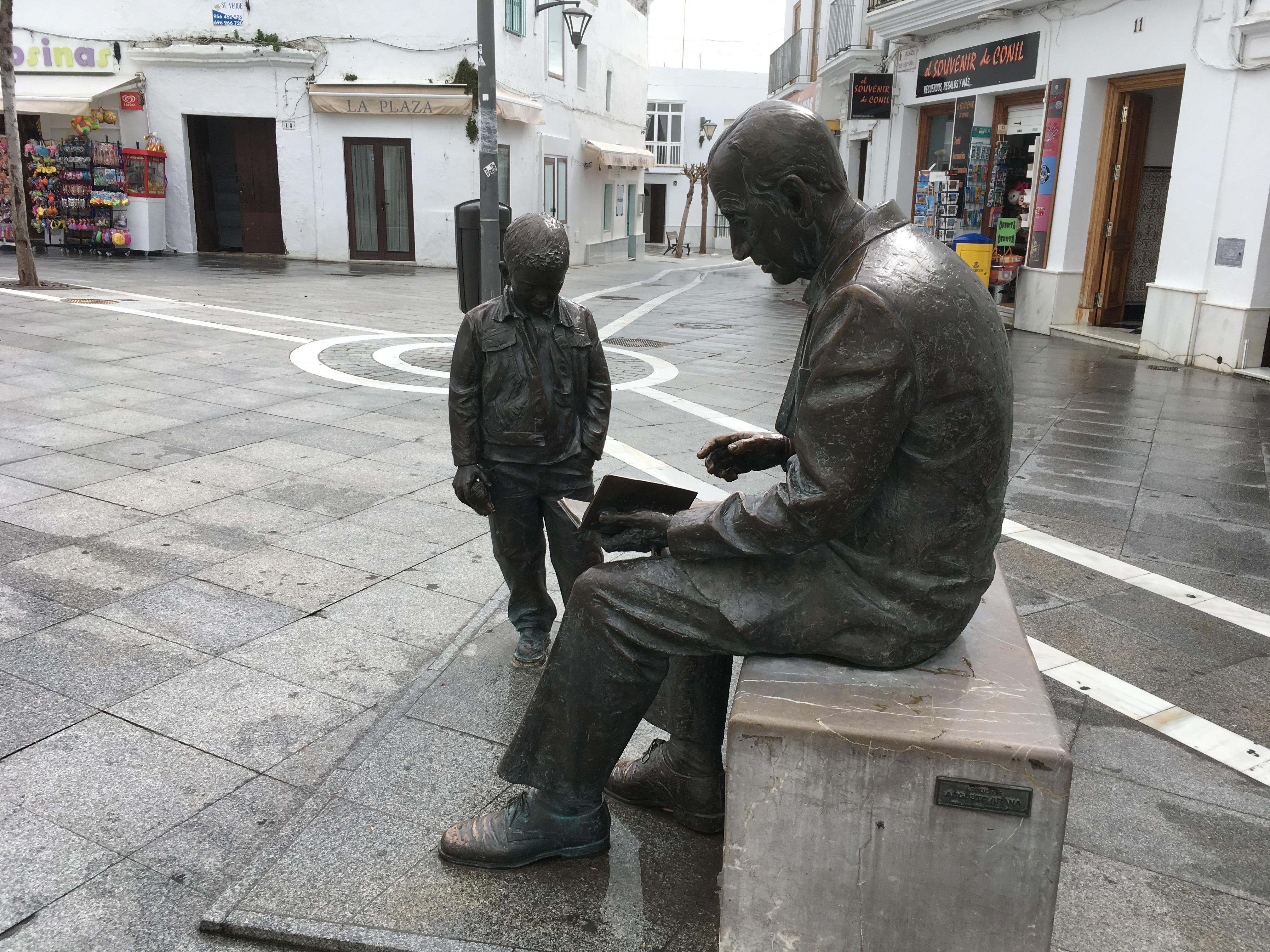 Monumento a José Saramago (Conil de la Frontera) 6