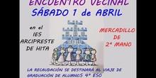 ENCUENTRO VECINAL EN EL IES ARCIPRESTE DE HITA -MADRID-