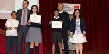 Entrega de los premios del IX Concurso de Narración y Recitado de Poesía 1
