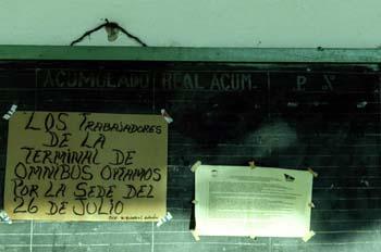 Comunicación de los trabajadores de omnibus, Cuba
