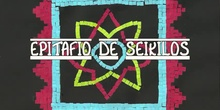 Epitafio de Seikilos. Alumnos de 5ºA. CEIP Andrés Segovia