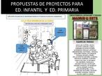 PROPUESTAS ABP CEIP FÉLIX RODRÍGUEZ DE LA FUENTE