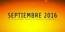 Septiembre de 2016 en Santa Quiteria