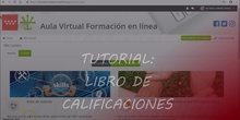 TUTORIAL LIBRO DE CALIFICACIONES