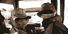 Expedición en Jeep, Namibia
