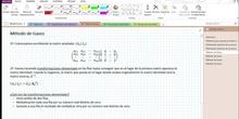 2Bto - 01 - Matrices - 12 - Método de Gauss I