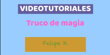 Videotutorial Felipe H.