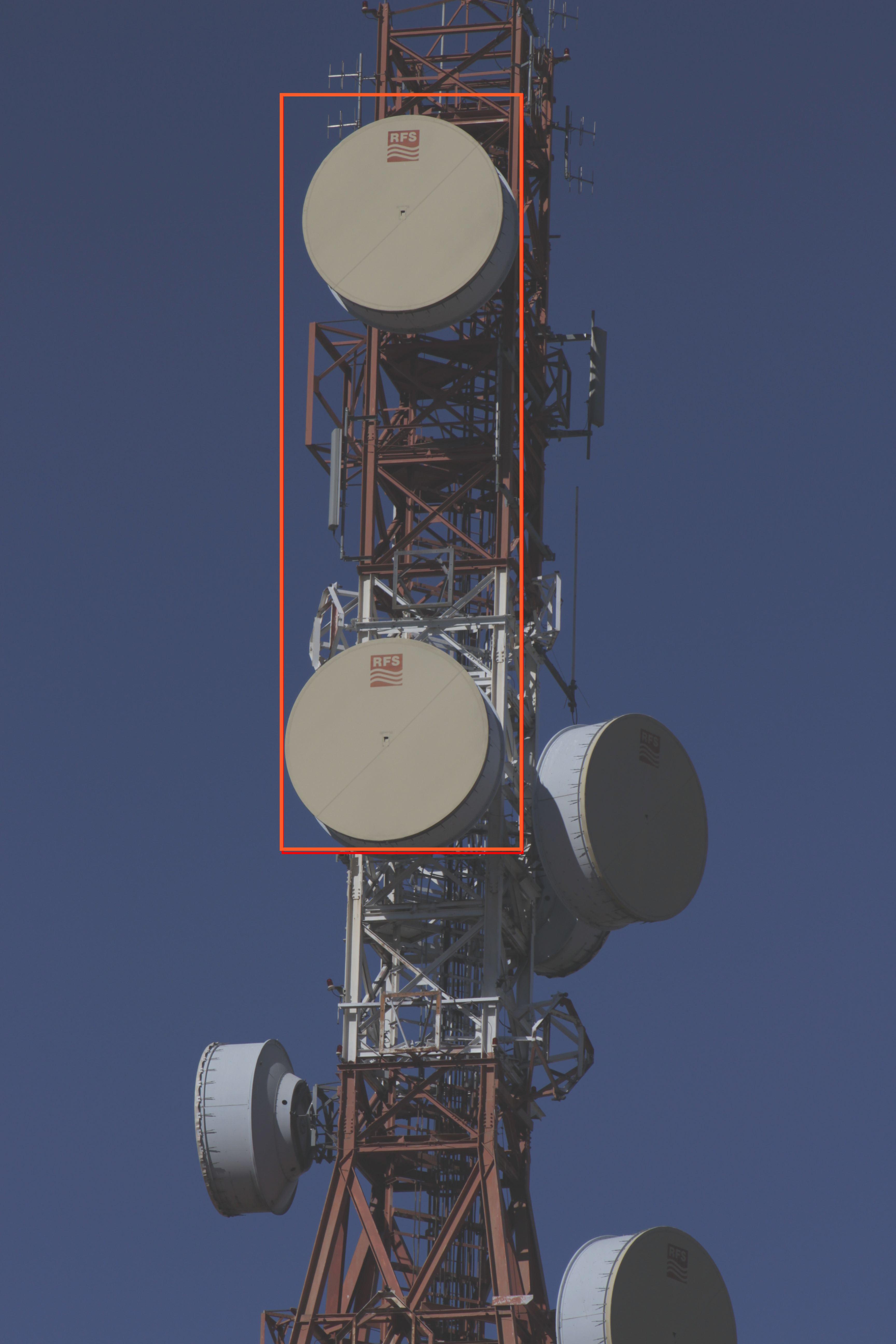 Diversidad de espacio en radioenlaces de 8 Ghz