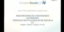 Portales institucionales de Escuela 2.0