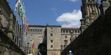 Rúa das Hortas, Santiago de Compostela, La Coruña, Galicia
