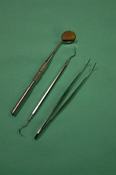 Kit exploración espejo, sonda y pinzas