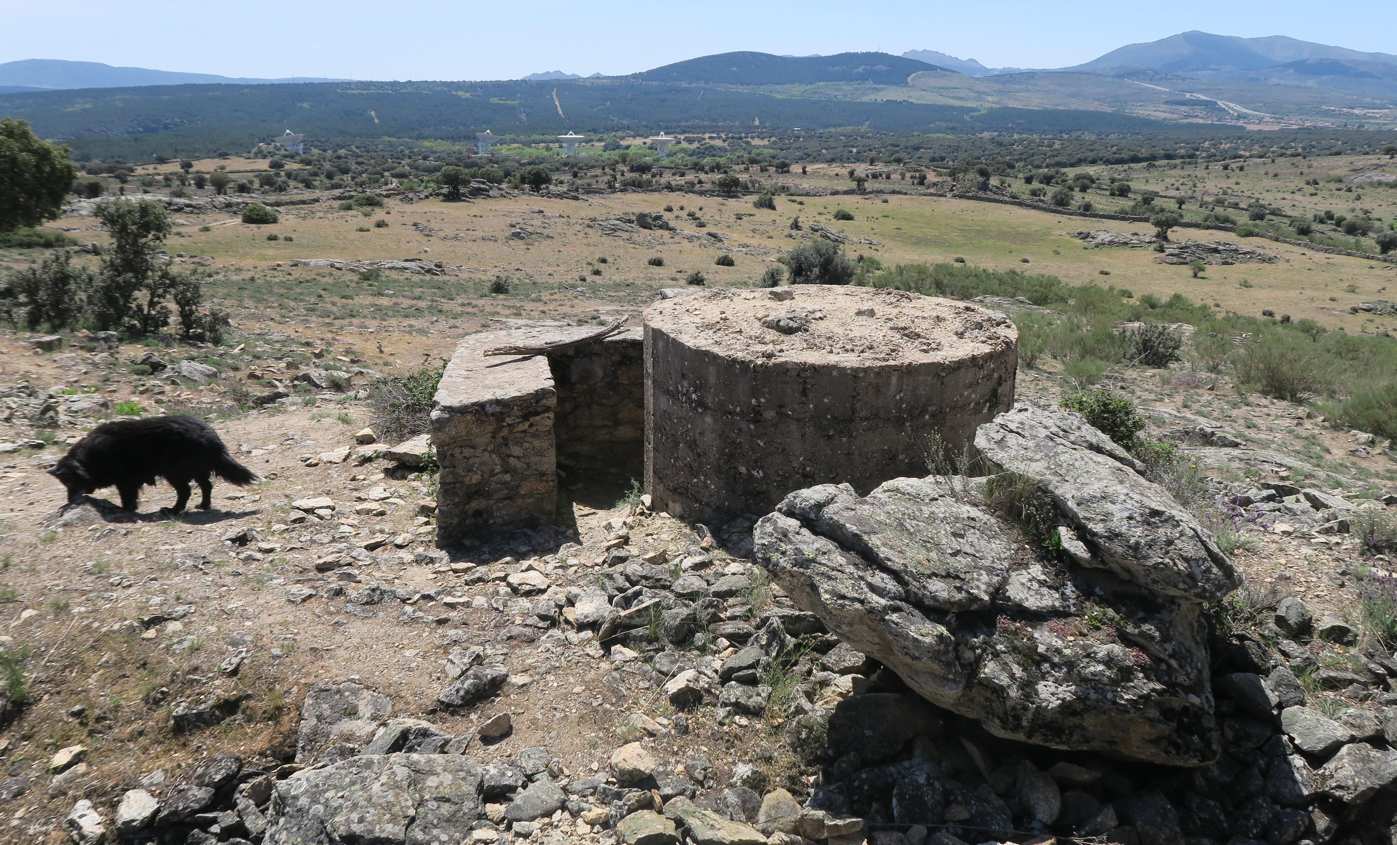 Fortificaciones de la Guerra Civil en Piñuecar-Gandullas (Frente Nacional) 13
