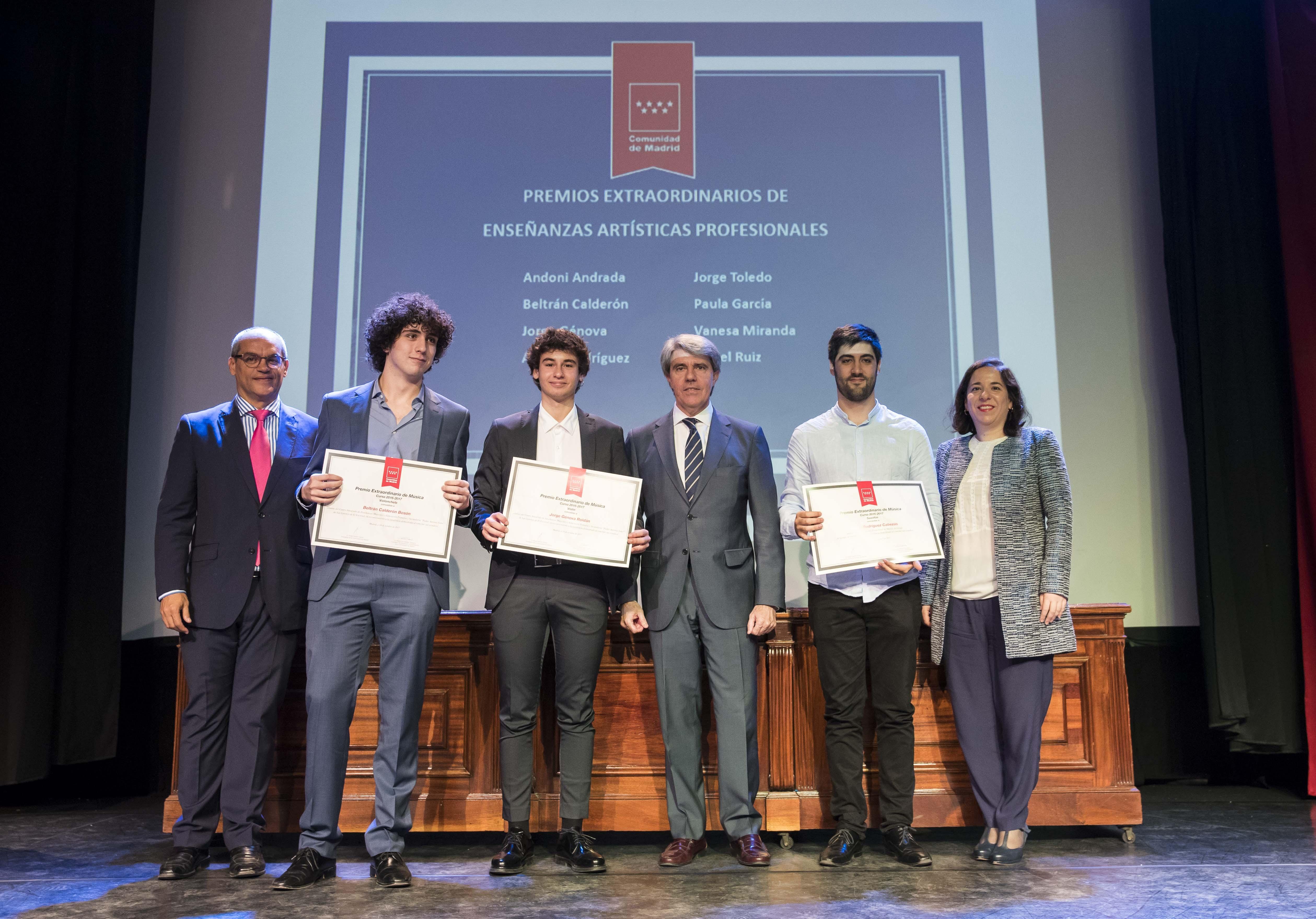 Entrega de los premios extraordinarios correspondientes al curso 2016/2017 23
