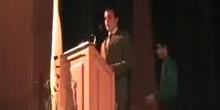 Graduación de Bachillerato: Discurso de los alumnos