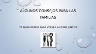 Orientación familias en confinamiento