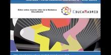 Editor online: Insertar vídeo de la Mediateca EducaMadrid