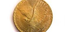Cara de una moneda de centésimos de escudos, Chile